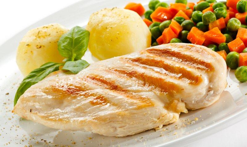 perdita di peso dieta pollo riso